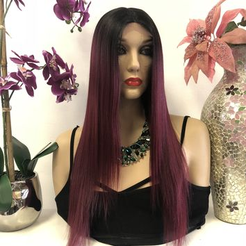Hair Extensions & Wigs Human Hair Weaves Ombre Brazilian Hair Straight 1b/burgundy Human Hair Weave Bundles Two Tone Non Remy Red Hair Weft Extensions 1/ 3 4 Bundles