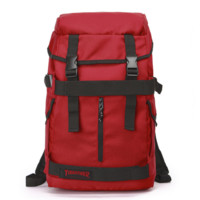 Thrasher New fashion canvas backpack with large capacity couples bag Red
