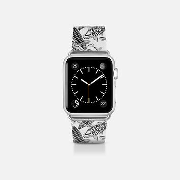 lucky koi mono apple watch band Apple Watch Band (38mm)  by Sharon Turner | Casetify