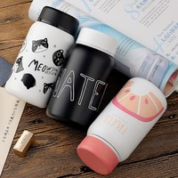 Cartoon Thermos Cup Bottle Stainless Steel Vacuum Cup Thermocup Thermal Mug Insulated Tumbler For Car Coffee Mug Birthday gift 1