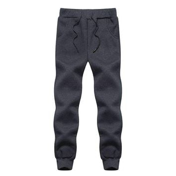 BHDD Fleece Pants Mens Warm Pants Thermal Trousers Mens Fleece Sweatpants Cotton Causal Pants Heated Trousers Winter Pants Men