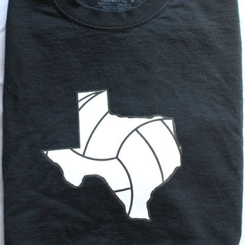 Texas Volleyball T-shirt- Vball Apparel, Sports Shirt - Longhorns
