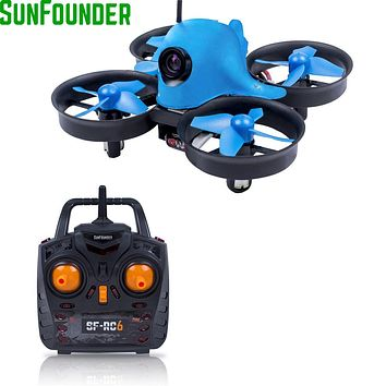 SunFounder Eshark Mini Quadcopter Remote Control 2.4G 4CH Dron Quadcopter with Camera HD 600TVL Video Drone RC Helicoters