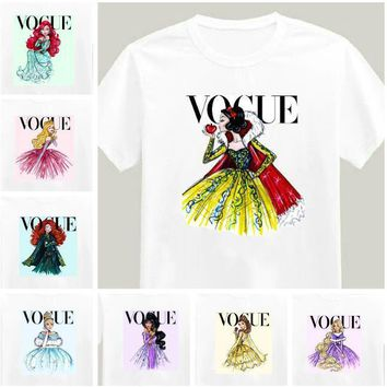 Vogue Princess Print Women's T-Shirt