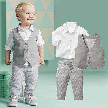 Kimocat Solid Sets For Baby Boys