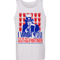 Beer Pong Parter Tank Top