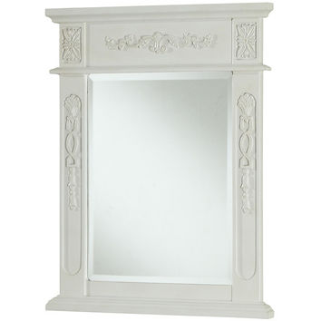 "Danville 22""x28"" Vanity Mirror, Antique White"