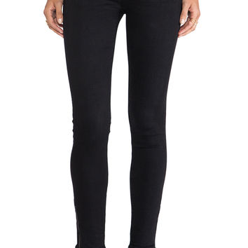 AG Adriano Goldschmied Zip Up Legging Ankle in Link