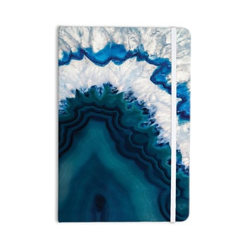 "KESS Original ""Blue Geode"" Nature Photography Everything Notebook"