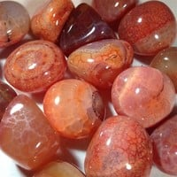 Fire Agate Tumbled Crystal