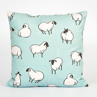 Cute Pillow. Funny Pillow Case. Kids Throw Pillow. Children Bedroom Decor. Cute Home Decor. Sheep Decor. Children Pillowcase. Sheep Pillow