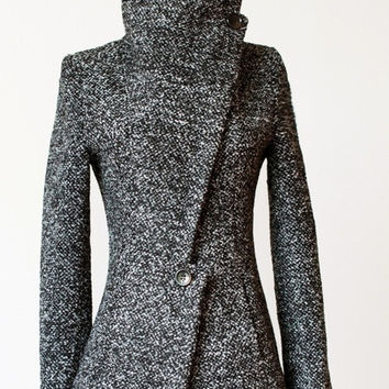 Han edition cultivate one's morality in the long winter cloth coat