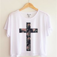 Flower Cross