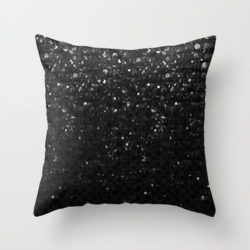 Crystal Bling Strass G283 Throw Pillow by MedusArt