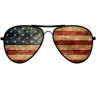 'American Flag Sunglasses ' by Swigalicious