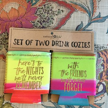 Set of Can Koozies