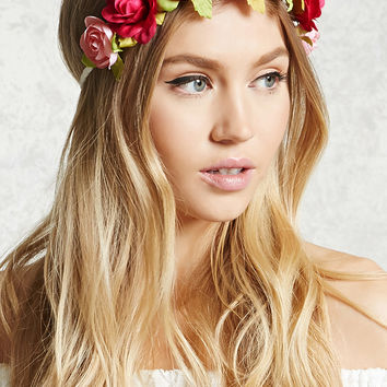 Braided Floral Headwrap