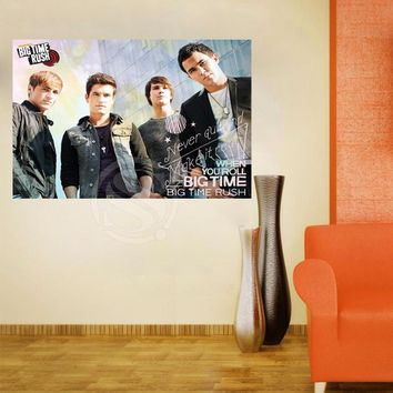 Y627#71 Big Time Rush in Cologne Canvas Painting Wall Silk Poster cloth print DIY Fabric Poster Free Shipping L#71
