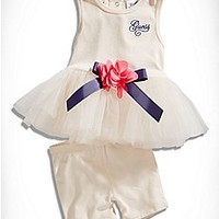 Baby Girl 0-24 Months: Shop tops, dresses, bottoms, Onesuits, outfits, sets and more | guess kids