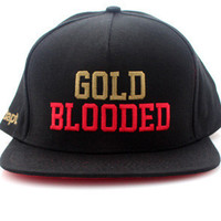 The Gold Blooded Snapback