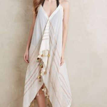 Cartagena Cover-Up by Anthropologie in Brown Motif Size: One Size Swimwear