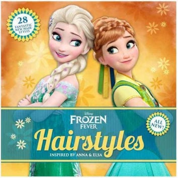 Disney Frozen Fever Hairstyles: Inspired By Anna And Elsa