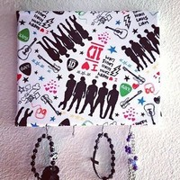 One Direction Jewelry Holder from Bowlicious Divas Bowtique