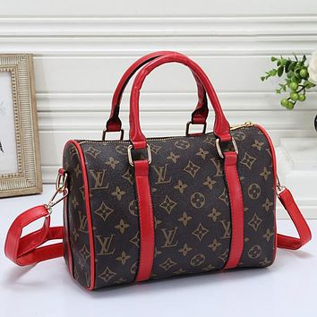 Louis Vuitton LV Women Fashion Leather Travel Bag Tote Crossbody Satchel