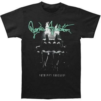 Janes Addiction Men's  Nothing's Shocking T-shirt Black Rockabilia