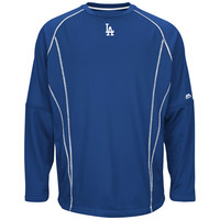 Los Angeles Dodgers 2015 Authentic Collection On-Field Practice Pullover Fleece