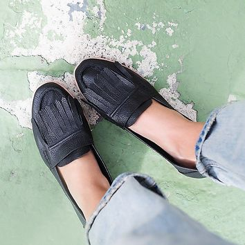Jeffrey Campbell + Free People Way Out Slip On Loafer at Free People Clothing Boutique