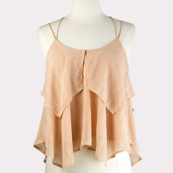 Layered Peach Tank