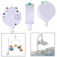 35 Songs Rotary Baby Mobile Crib Bed Bell Toy Battery-operated Music Box Newborn Bell Crib Baby Toy