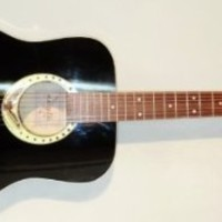 New Russian Seven 7 String Acoustic Guitar. Black Eagle. Gypsy. High Quality! 63