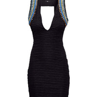 Dress with Beaded Embroidery - from H&M