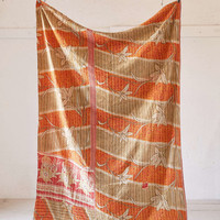 One-Of-A-Kind Kantha Throw Blanket - Urban Outfitters