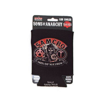 Sons of Anarchy Samcro Men of Mayhem Soda Can Holder Koozie New Licensed