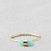 AEO MINT CRYSTAL RING