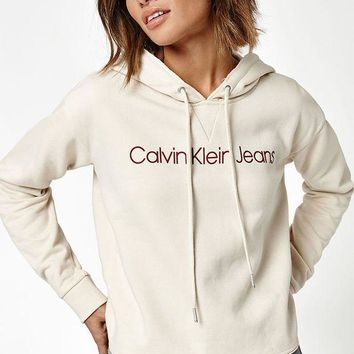 ONETOW Calvin Klein Cropped Hoodie at PacSun.com