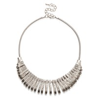 Sole Society Crescent Statement Necklace