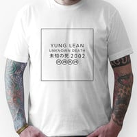 YUNG LEAN UNKNOWN DEATH 2002 Unisex T-Shirt