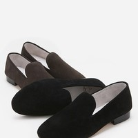Mens Discount Collis Minimal Suede Slippers Slip Ons Christian Louboutin Motive at Fabrixquare