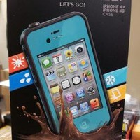 LIFEPROOF CASE for Iphone 4 / 4s  (TEAL) 100% AUTHENTIC!