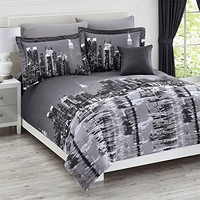 Brylanehome New York City 4-Pc. Reversible Comforter Set
