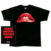 Rocky Horror Picture Show Lips Mens T-shirt
