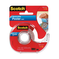 Scotch Wallsaver Removable Poster Tape 34 x 150 by Office Depot & OfficeMax