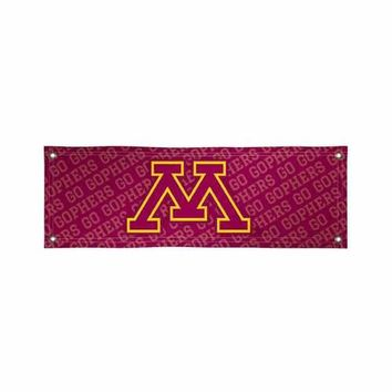 Minnesota Golden Gophers NCAA Vinyl Banner (2ft x 6ft)