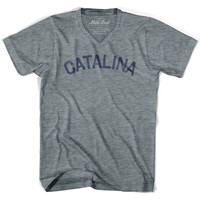 Catalina City Vintage V-neck T-shirt