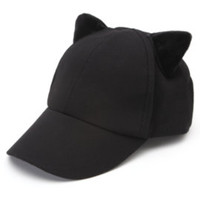 Kendall and Kylie Cat Ear Baseball Hat at PacSun.com