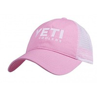 Trucker Hat in Pink by YETI